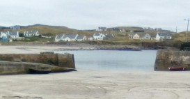 Seascapes CLare I sland Harbor Irland